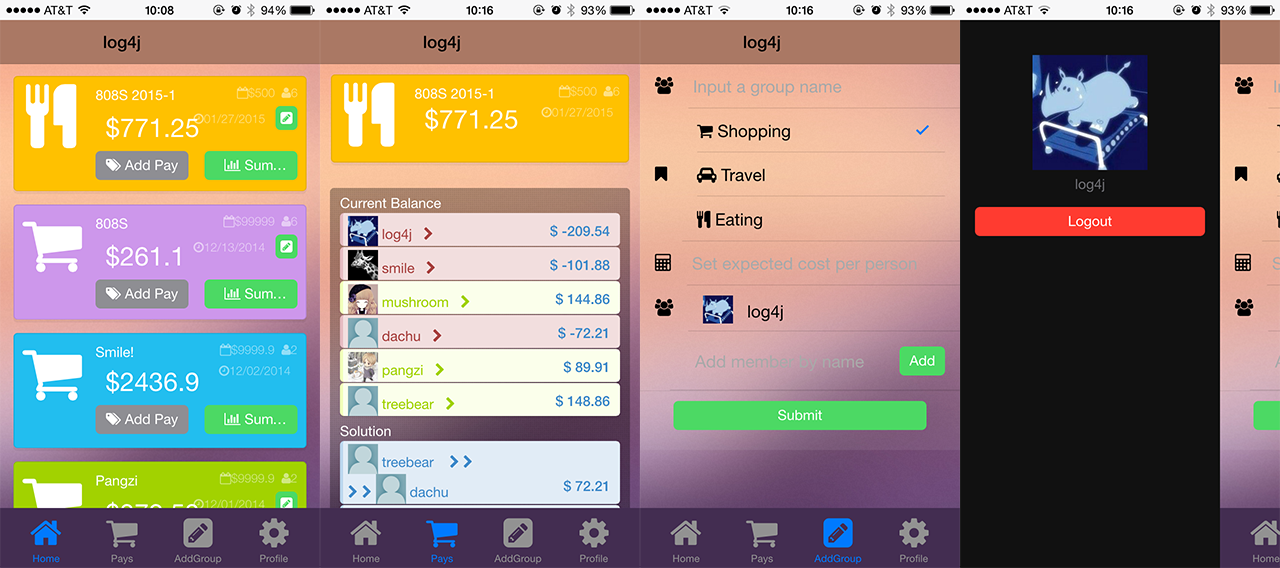 iOS Screenshot | height = 100px